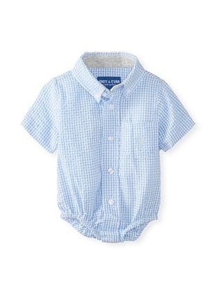 40% OFF Andy & Evan Baby Boy's Pucker-Up Shirtzie (Blue)