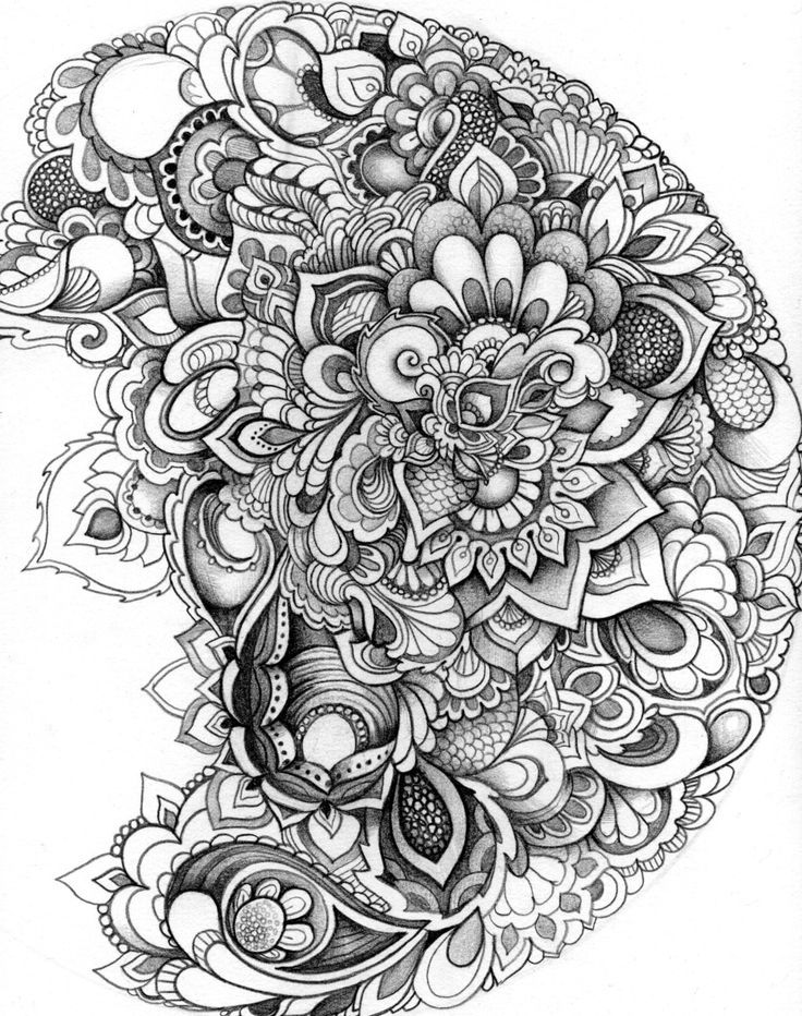 elaborate black and white by Lauren Kussro  | followpics.co