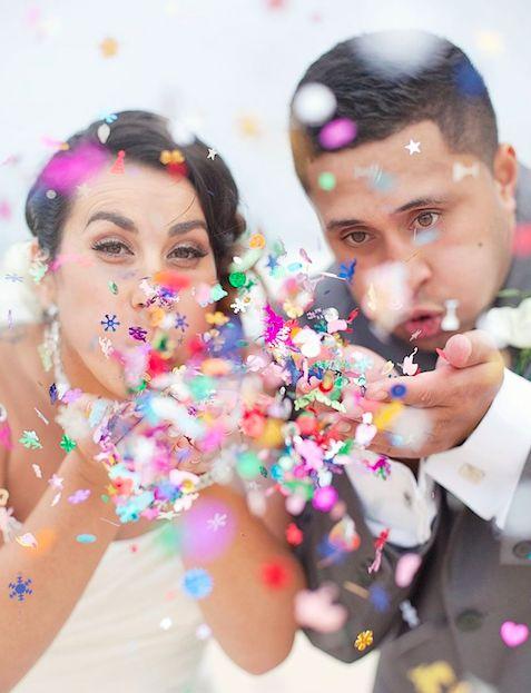 Confetti magic