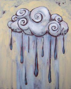 Rain Cloud Tattoos on Pinterest | Cloud Tattoos, Rain Tattoo and ...