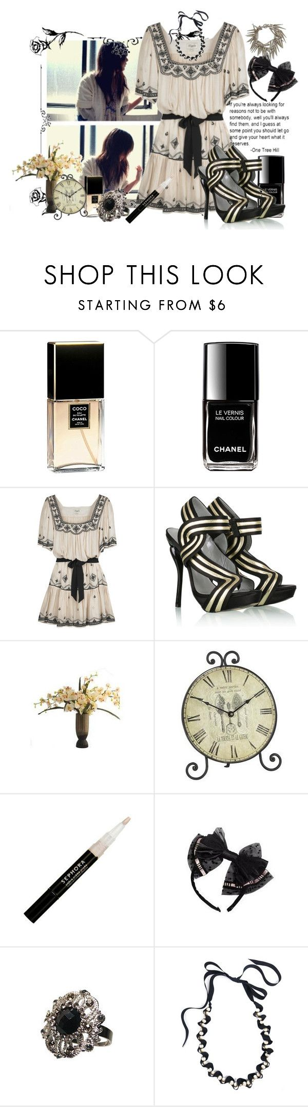 """""""Untitled"""" by e-m-i-l-y-71 ❤ liked on Polyvore featuring Chanel, Temperley London, Terry de Havilland, Sephora Collection and Ben-Amun"""