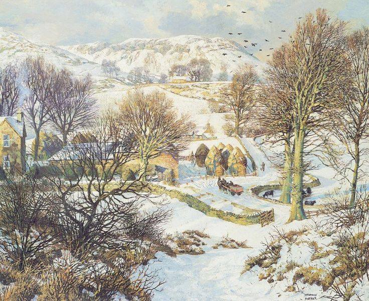 James McIntosh Patrick Winter at Lundie Signed Limited Edition Print | Scottish Contemporary Art