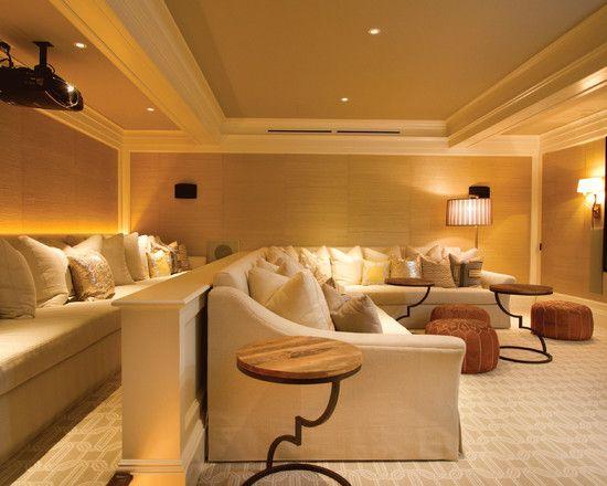 media room lighting ideas. media room seating lighting ideas p