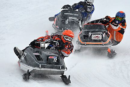 Vintage Snowmobile Races in Boonville, NY #oneidacountyny ...