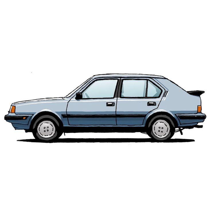 Volvo 360 GLT, 1985 #volvo #volvo360 #360glt