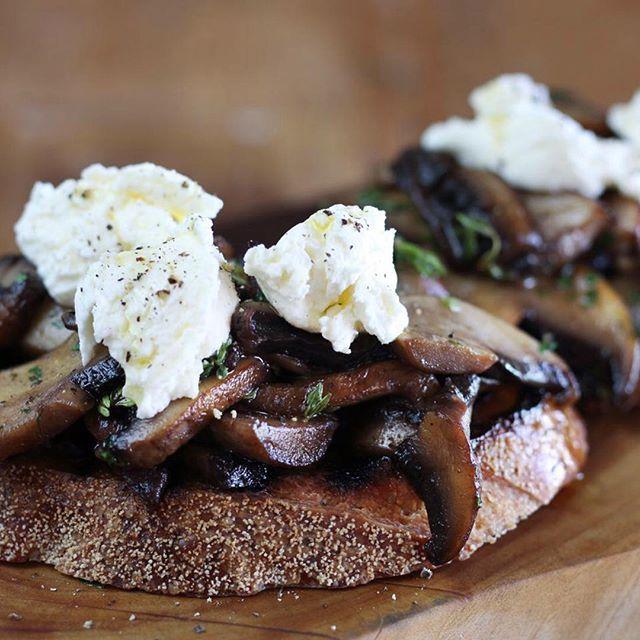 Mushroom Bruschetta - Maggie Beer