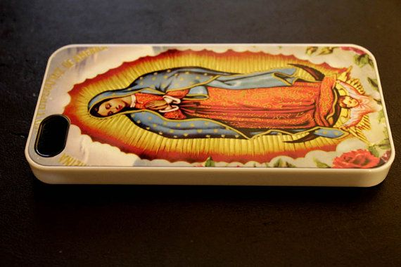 Lady of Guadalupe phone case hard iphone5 or iphone4 by CaseShoppe, $15.99