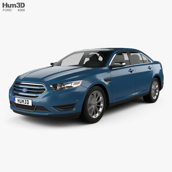 Ford Taurus Limited 2013 3d Model From Hum3D