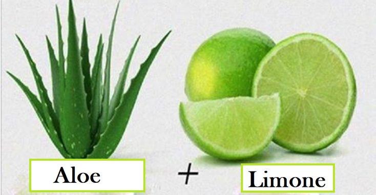 Aloe vera e limone sono due ingredienti ricchi di proprietà benefiche che aiutano a depurare intestino e fegato e ad eliminare le tossine.