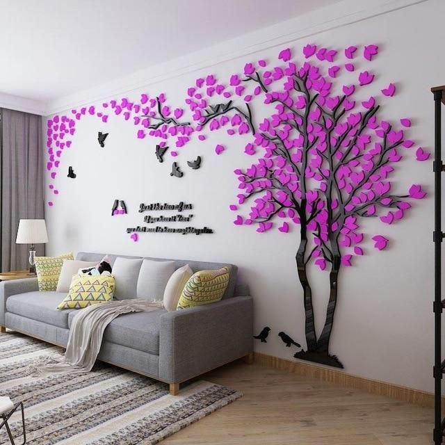 large tree wall sticker decal (size/color varies) #livingroomideas