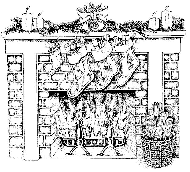 christmas coloring pages bing images - Detailed Christmas Coloring Pages