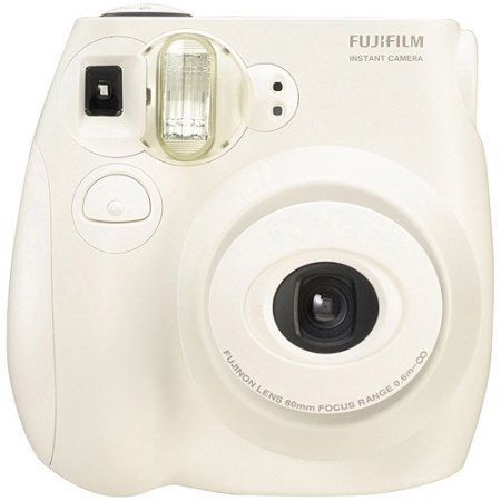 Capture your favorite moments and enjoy them right away with this Fujufilm Instax Mini 75 Instant Camera.  It has an auto flash and automatic adjustment so it takes great pictures even in low light conditions. Available at Walmart.com.