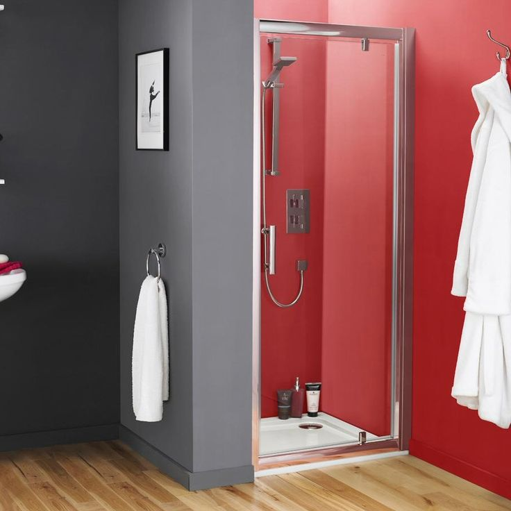 Premier - Pacific Pivot Shower Door at Victorian Plumbing UK £119.00 700mm
