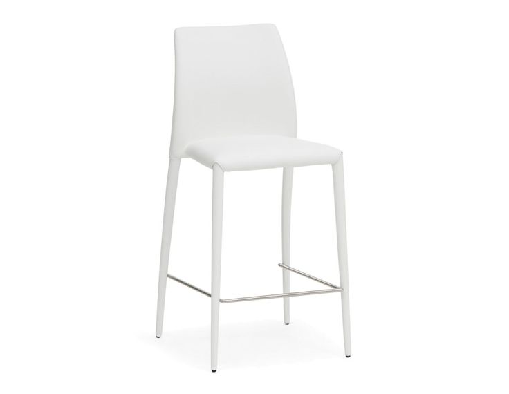 GROOVE - Counter stool 26'' - White