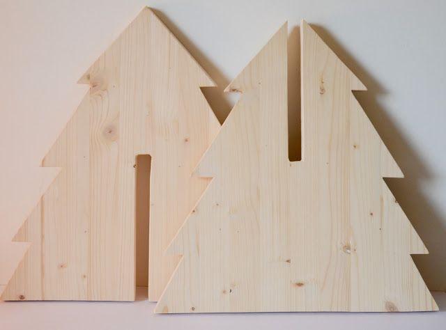 Les 25 meilleures id es de la cat gorie sapin noel bois sur pinterest deco - Decoration de noel a fabriquer en bois ...