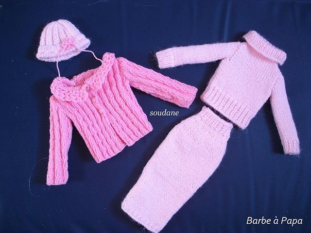 HANDKNITTED COMPLETE OUTFIT FOR 16 INCHES DOLL AS TONNER DOLLS | Flickr - Photo Sharing!