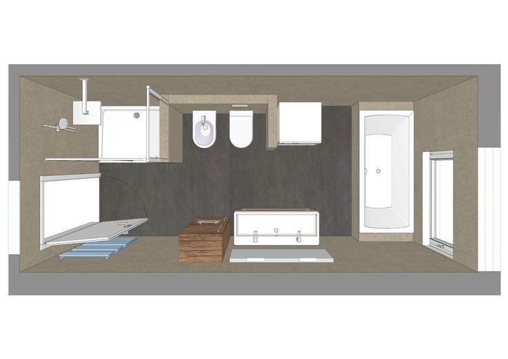 die besten 17 bilder zu badarchitektur gut geplant auf pinterest toiletten layout und bad. Black Bedroom Furniture Sets. Home Design Ideas
