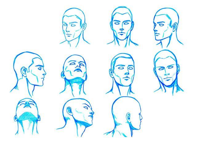 Facial pose, seka mandingo
