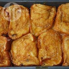 Foto recept: Wentelteefjes uit de oven