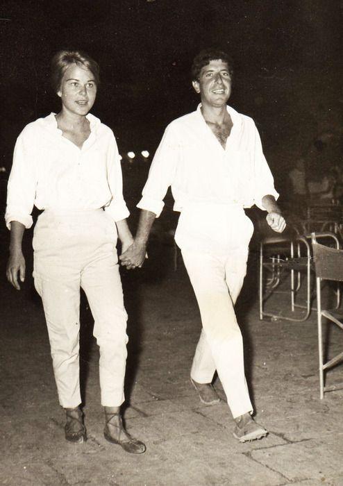 Leonard Cohen and Marianne Ihlen in Hydra, Greece 1960