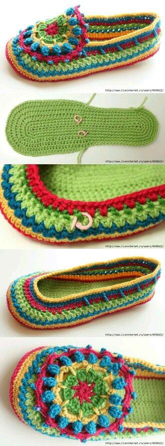 Crochet sandel
