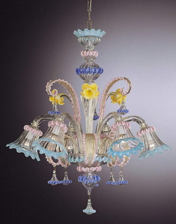 Perfect Image Detail For  Beautiful Glass Chandeliers (20 Photos) | FunMag Awesome Design
