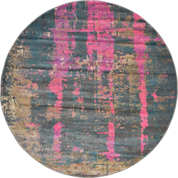 multi 6u0027 x 6u0027 aria round rug area rugs irugs uk