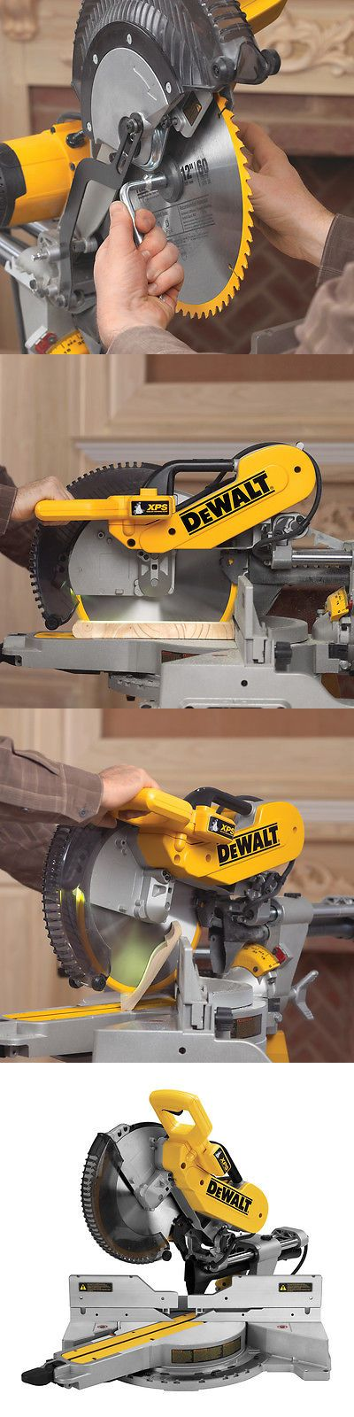 Miter and Chop Saws 20787: Dewalt 12-In 15-Amp Dual Bevel Sliding Compound Miter Saw -> BUY IT NOW ONLY: $500 on eBay!