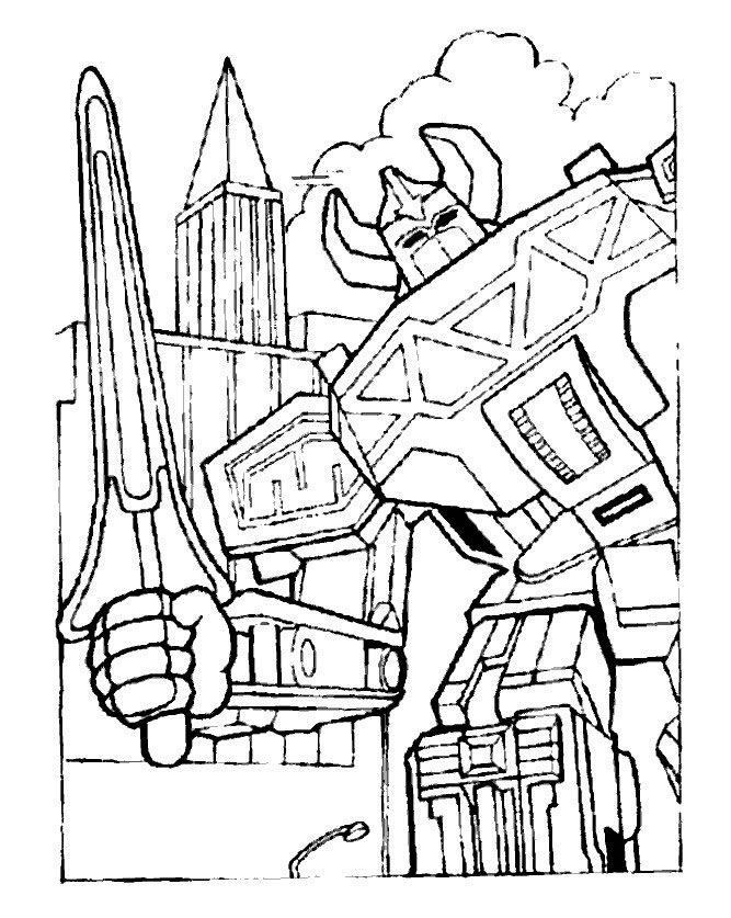 dino thunder coloring pages - photo#35