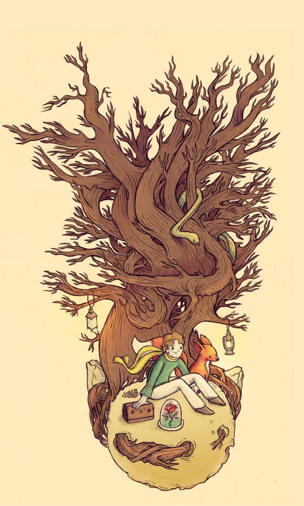 Le Petit Prince by Kolega Soberanis, via Behance