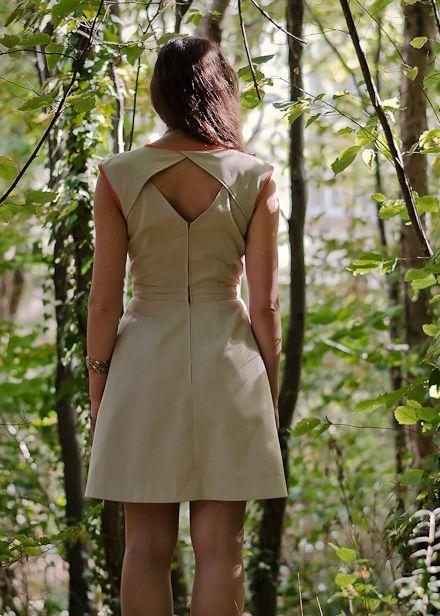 Jolis patrons de couture - Robe Belladone (Deer and Doe)