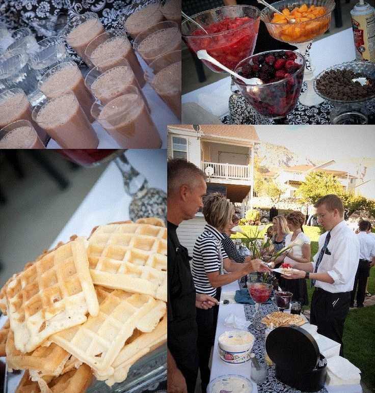 Wedding Reception Waffle Bar- Total Hit!