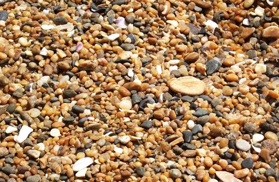 Beach Pebbles Shag Point New Zealand Digital by KarenLawsonArt, $5.00