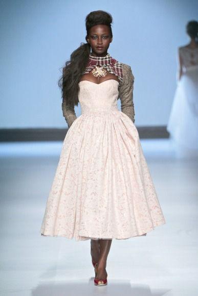 Abigail Betz collection at Mercedes-Benz Fashion Week Joburg 2014. Image by SDR Photo #MBFWJ