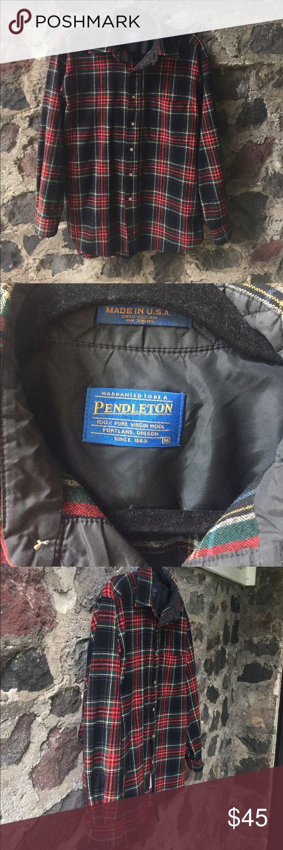 "NWOT Pendleton Black Stewart Tartan Shirt size M NWOT.. in perfect condition! Size M. Measurements are as follows: 28.5"" length, 22"" armpit to armpit, 22"" sleeve. Pendleton Shirts Casual Button Down Shirts"