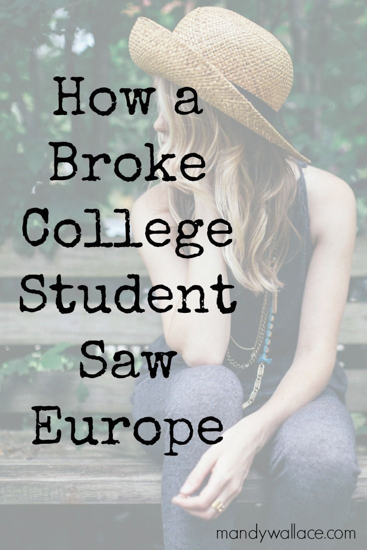 How a Broke College Student Saw Europe. Tips for backpacking through Europe. How to use Couchsurfing safely.