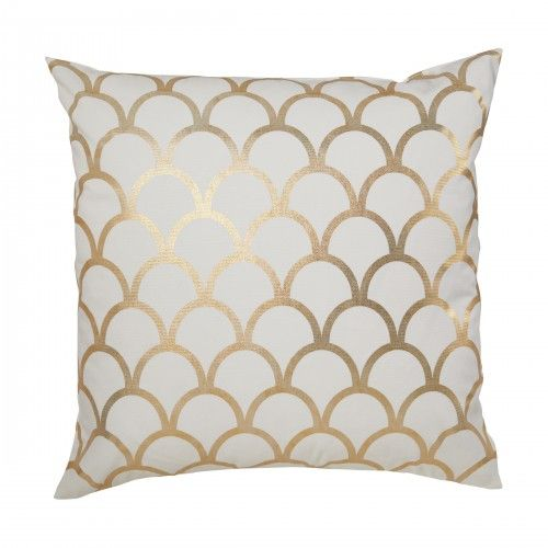 Caitlin Wilson Textiles: GOLD SCALLOP PILLOW  Living Room or bedroom pillow