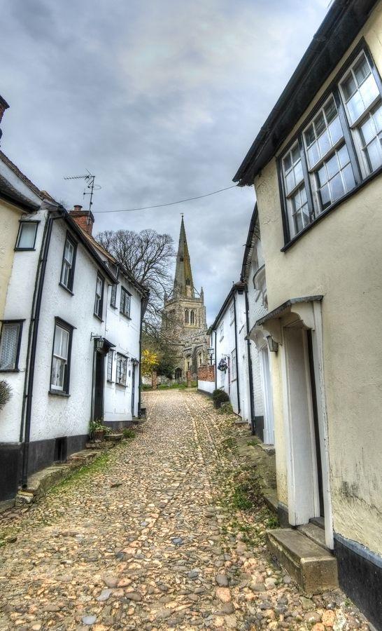 Stoney Lane, Thaxted, Essex, UK