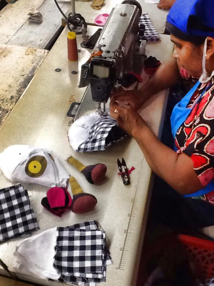 From our toy factory today!   #selyn #handlooms #fairtrade #srilanka