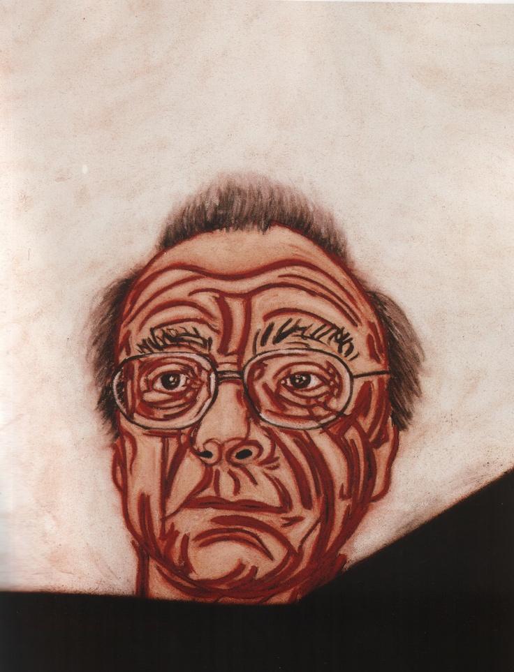 Tony Bevan - 'Alfred Brendel'   Google Image Result for http://www.art.highlandschools.org.uk/images/HigherResources/tonybevanalfredbrendel.jpg