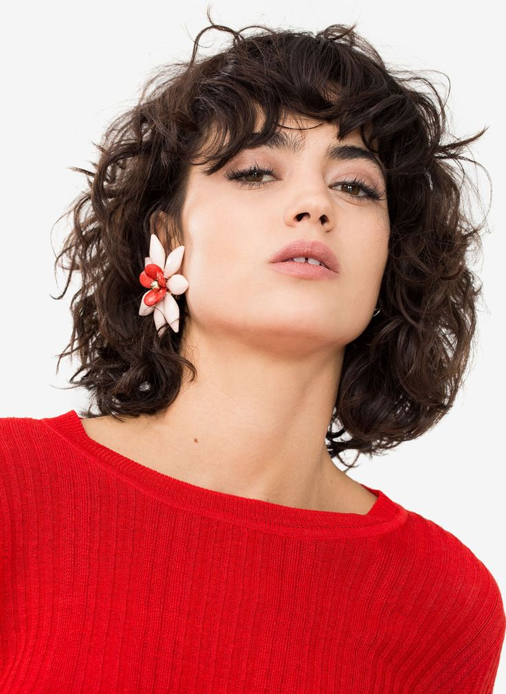 Floral earrings - What's new - Uterqüe United Kingdom