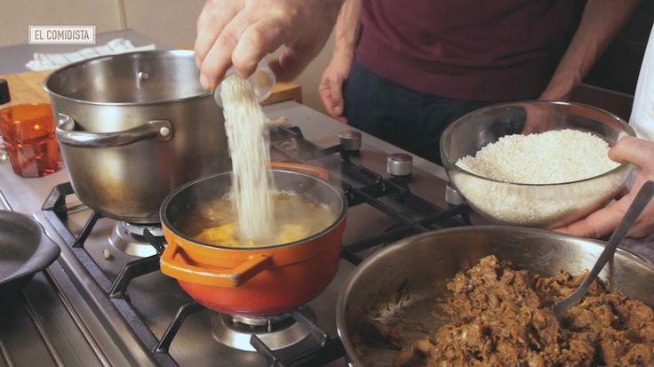 Seco, cremoso y caldoso. Las tres con los mismos ingredientes. Si no aprendes a prepararlos después de ver este vídeo, te tendrás que pasar al tres delicias.