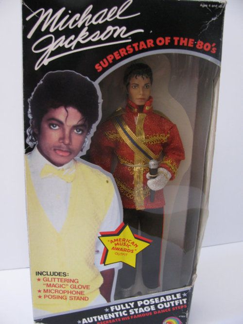Michael Jackson doll from the 1980's
