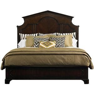 Charleston Regency California King Cathedral Panel Bed By Stanley Furniture At Story Lee