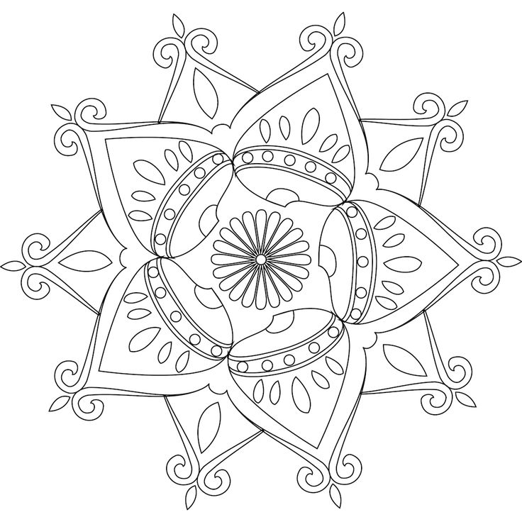 Picture of Student's Path coloring page