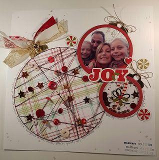 l'angolo di miki: un layout natalizio