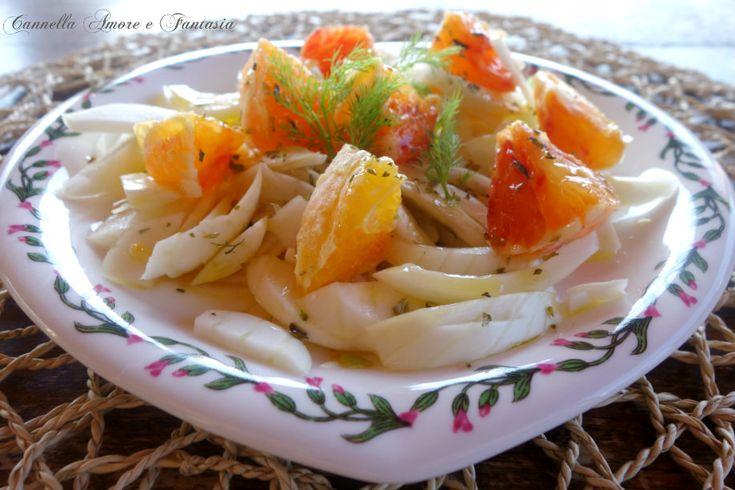 Insalata di finocchi e arance siciliana