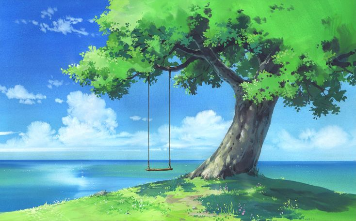 Anime Scenery wallpaper