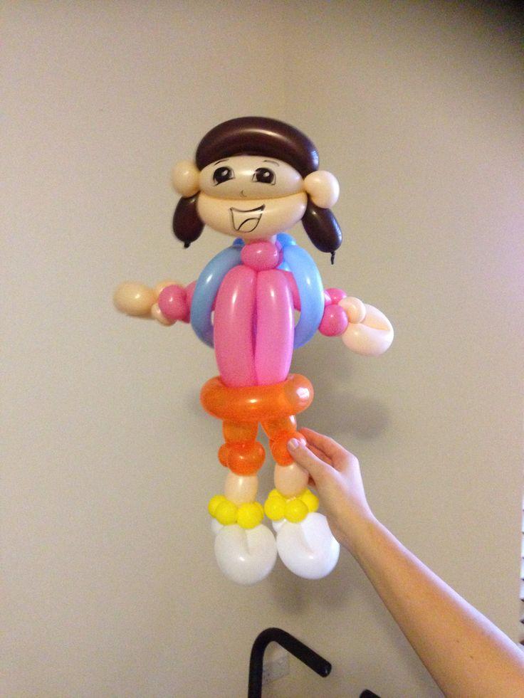 308 best ballon personnages images on pinterest balloons balloon ideas and balloon animals - Personnage dora ...
