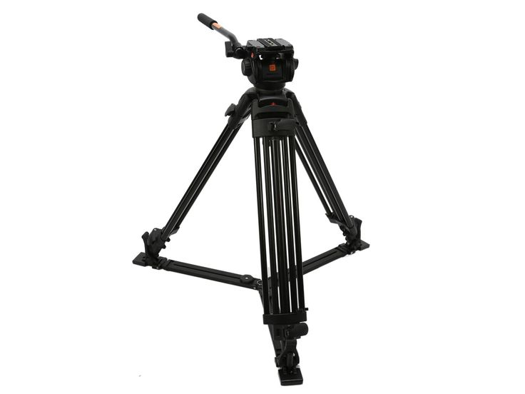 Manfrotto Tripod that's solid enough for huge video camera. Should be enough for Hassies with standard lenses.
